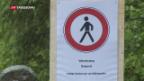 Video «Wurden die Wanderer genügend gewarnt?» abspielen