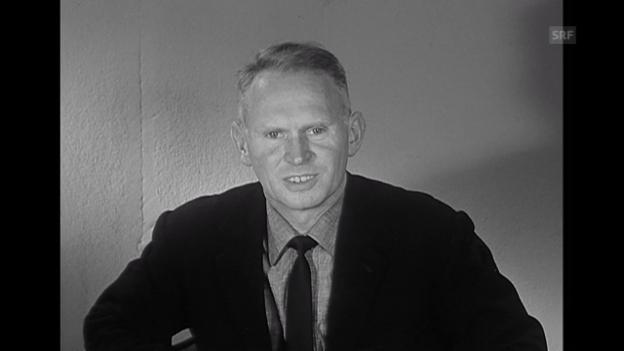 Video «Ausschnitt: Wort zum Sonntag von Alfred Meier (23.7.1966)» abspielen