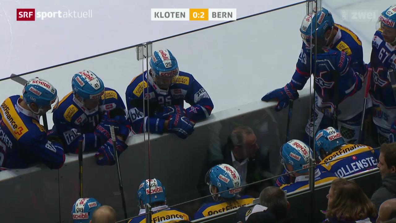 Eishockey: Kloten - Bern