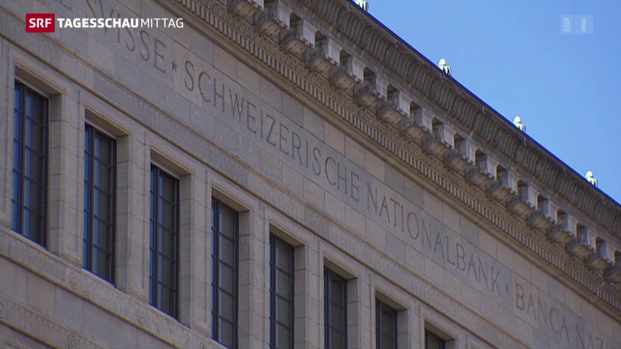 SNB beharrt auf Negativzinsen