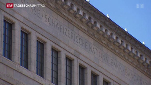 Video «SNB beharrt auf Negativzinsen» abspielen