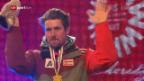 Video «Medaillenfeier in voller Länge: Ehre für die Riesenslalom-Asse» abspielen