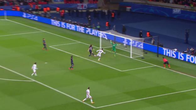 Video «Die besten Szenen von Kevin Trapp im Spiel gegen Chelsea» abspielen