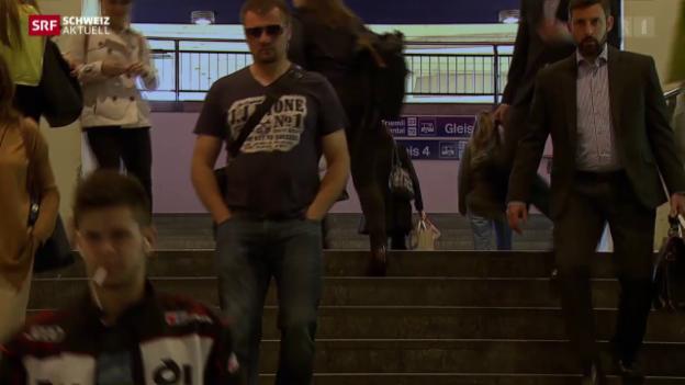 Video «Schweiz aktuell vom 26.05.2015» abspielen