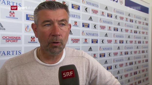 Video «Der FC Basel vor dem Cup-Final gegen Sion» abspielen
