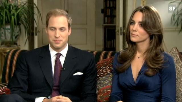 Prinz William und Kate Middleton sprechen über ihre Liebe