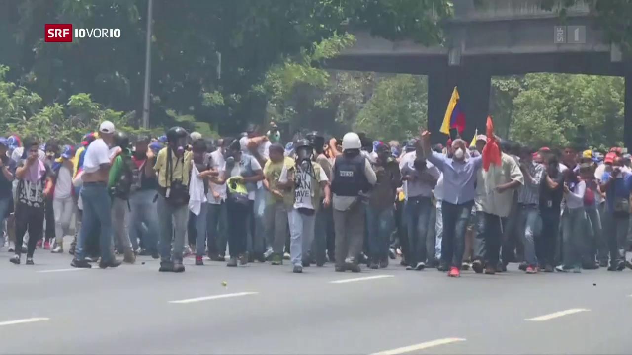 Venezuela versinkt im Chaos