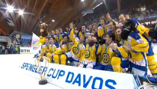 Davos gewinnt den Spengler Cup 2011