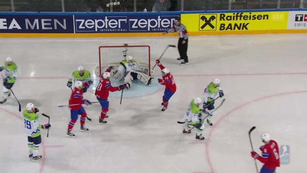 Video «Slowenien - Norwegen: Die Tore (unkommentiert)» abspielen