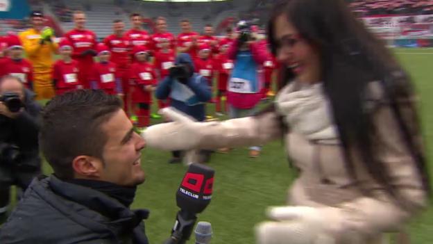 Video «Fussball: Zusammenfassung Thun - Aarau» abspielen