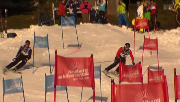 Video «Schwinger im Schnee: Runter kommen sie immer» abspielen