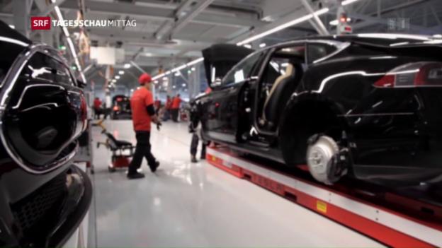 Video «Millionenverlust bei Tesla» abspielen
