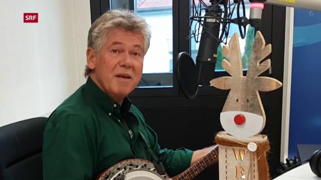 Video ««Rudolph, the Red-Nosed Reindeer» von Jürg Moser auf dem Banjo» abspielen