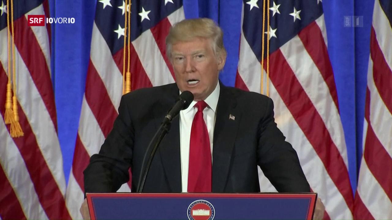 Donald Trump und die angebliche Russland-Affäre