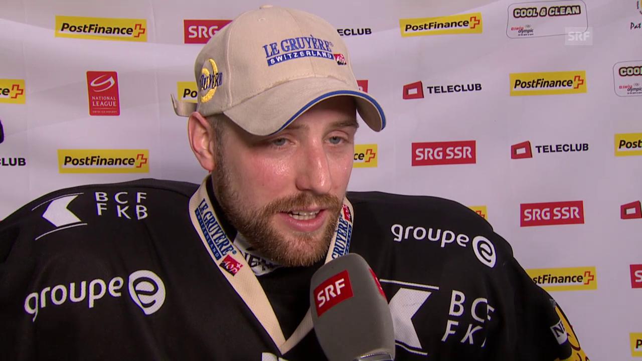 Freiburgs Marc Abplanalp zum Spiel vom Samstag