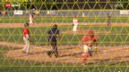 Video «Baseball-EM: Schweiz - Bulgarien» abspielen