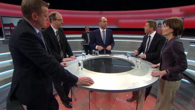 Video «Die kleinen Parteien vor den Wahlen 2015» abspielen