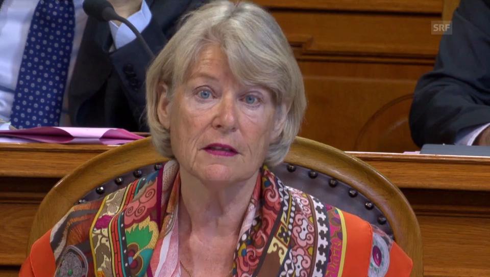Verena Diener (SLP/ZH) stellt sich gegen Minder