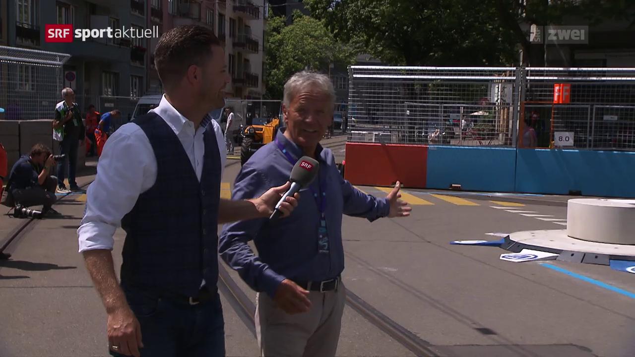 Formel E: Die Strecke in Zürich unter der Lupe