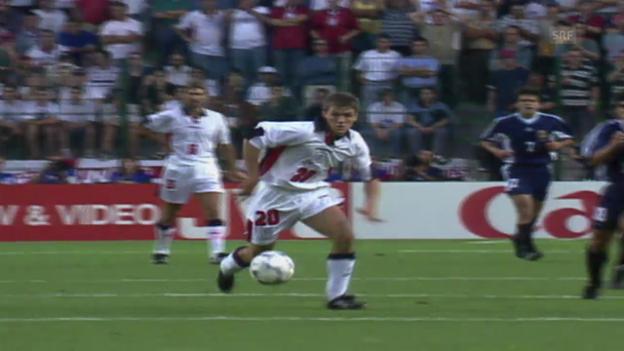Video «Fussball: Michael Owens Tor gegen Argentinien» abspielen