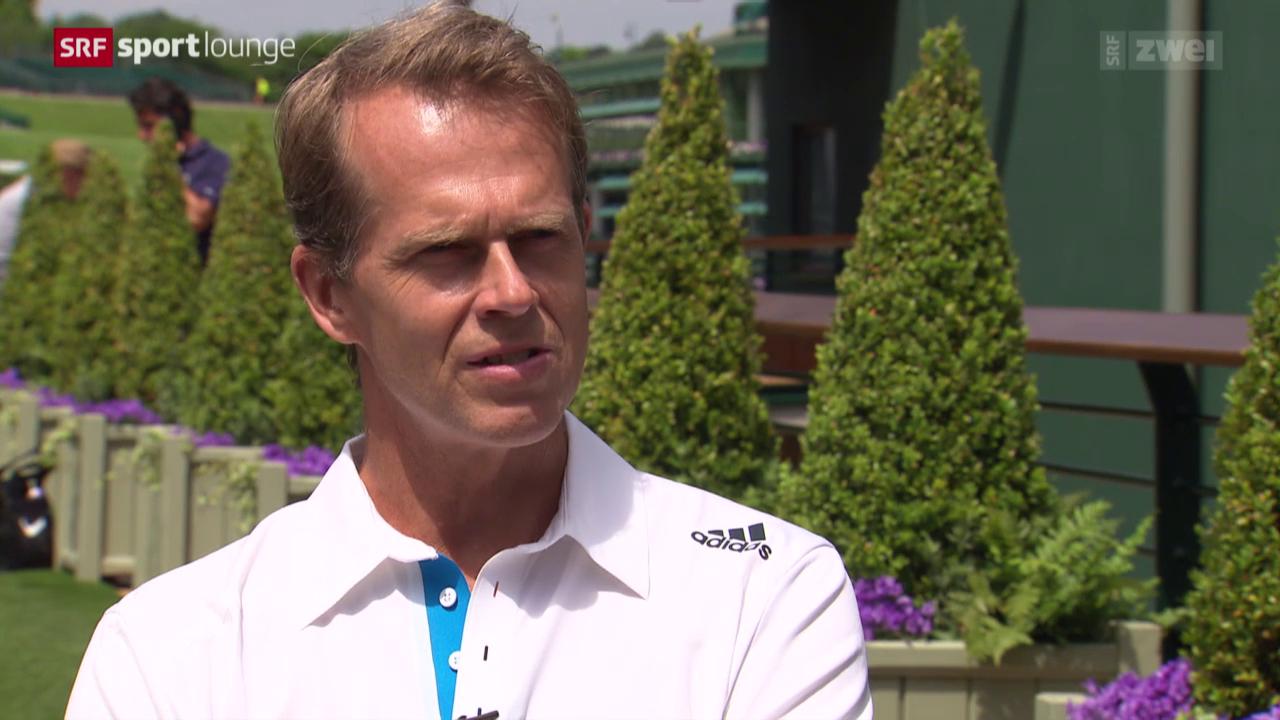 Stefan Edberg – der Coach von Roger Federer