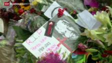Video «Mandela's Trauerfeier wird vorbereitet» abspielen