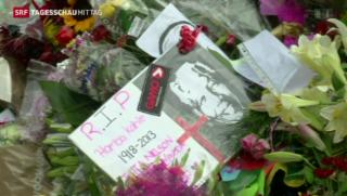 Video «Mandelas Trauerfeier wird vorbereitet» abspielen