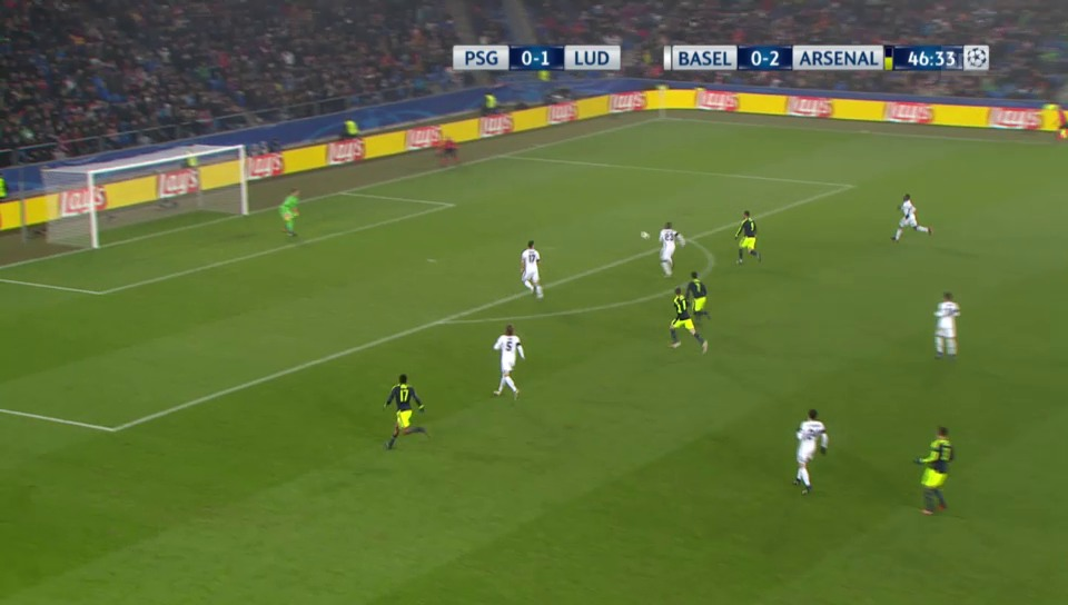 2016: Lucas schiesst Basel aus der Champions League
