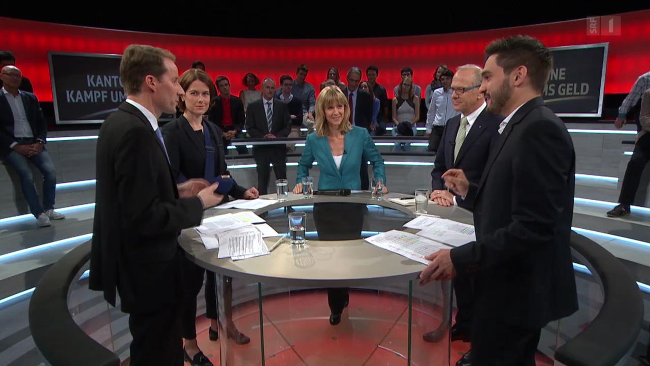 Kantone: Kampf ums Geld