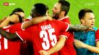 Video «Fussball: Thun und St. Gallen sorgen im Europacup für Furore» abspielen