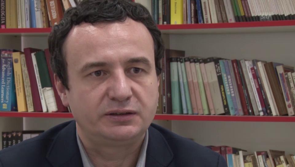 Albin Kurti, Gründer Oppositionsbewegung Vetëvendosje (Selbstbestimmung)