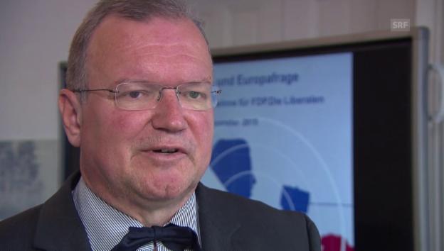 Video «Claude Longchamp: Der Wähleranteil der SVP hat sich stabilisiert» abspielen