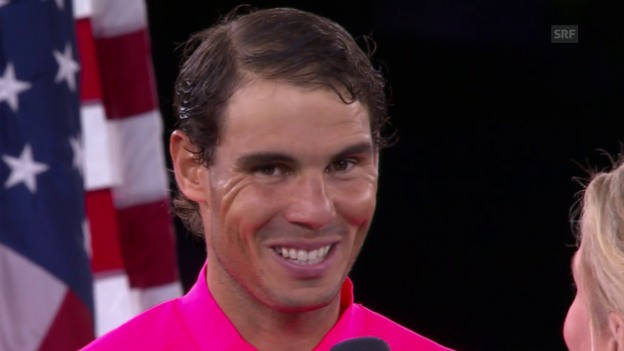 Video «Nadal: «Fühle mich hier wie zuhause» (engl.)» abspielen