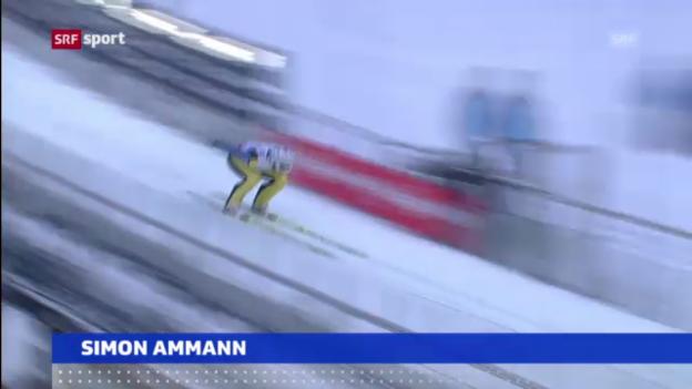 Video «Starkes Training von Simon Ammann» abspielen