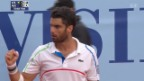 Video «Tennis: Suisse Open Gstaad, Halbfinals» abspielen
