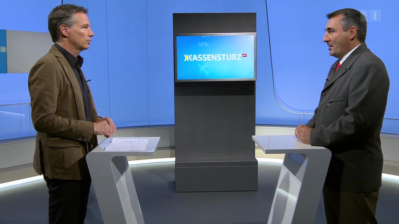Studiogespräch mit Otmar Deflorin, Präsident der Kantonschemiker