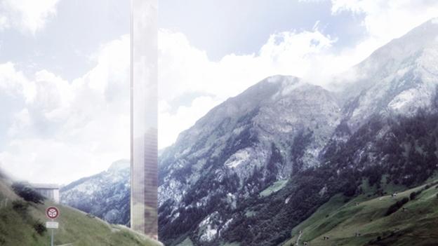 Remo Stoffel und das Turmprojekt in Vals