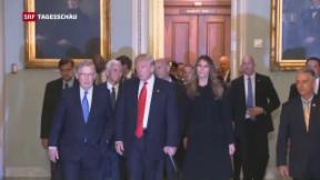 Video «Donald Trumps erste Medienkonferenz seit der Wahl» abspielen