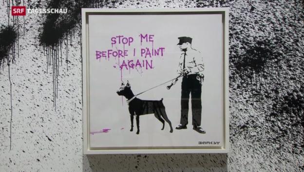 Video «Street-Art bei Sotheby's» abspielen