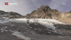 Video «Gletscherschmelze im Hitzesommer» abspielen