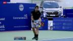 Video «Schweizer Tennis-Stars erfolgreich» abspielen