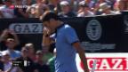 Video «Haas vermiest Federer das Comeback» abspielen