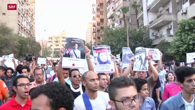 Video «Abrechnung in Ägypten» abspielen