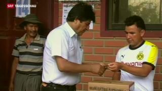 Video «Bolivien stimmt über vierte Amtszeit für Morales » abspielen