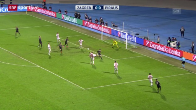 Video «Fussball: CL, Zagreb - Piräus» abspielen