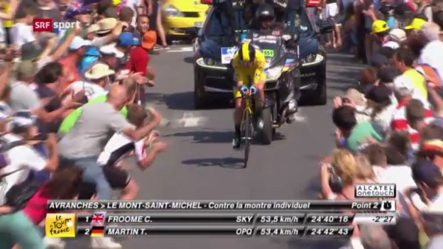 Video «Tour de France: Die 11. Etappe» abspielen