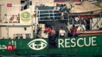 Video «Seenotretter setzen Hilfe aus» abspielen