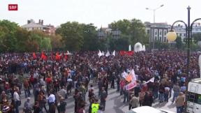 Video «Wut und Trauer in der türkischen Hauptstadt» abspielen