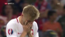 Video «Das Penaltyschiessen bei Polen-Portugal» abspielen