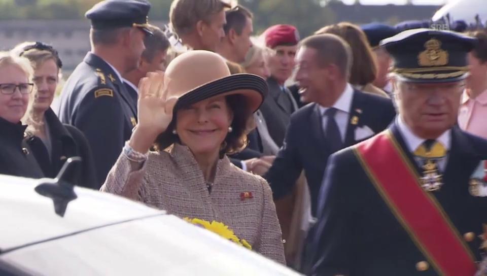König Carl Gustaf und Silvia in Berlin (unkomm.)